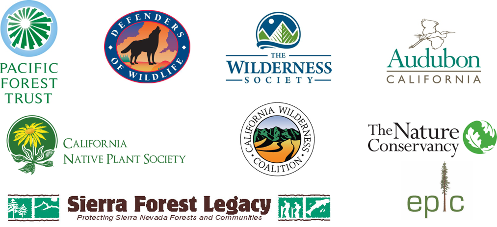 Logos for group sign on letter prescribed fire - Pacific