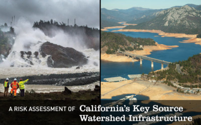 A Risk Assessment of California's Key Source Watershed Infrastructure