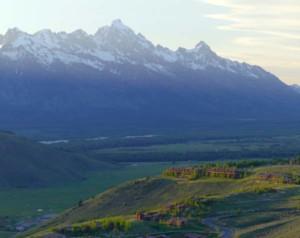 The Amangani and the Grand Tetons